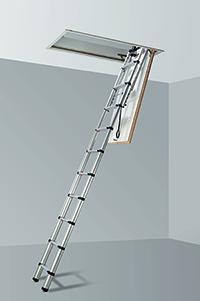 מודרני סולם לעליית הגג- המדרגם- גם מדרגות וגם סולם לעליית הגג MD-35